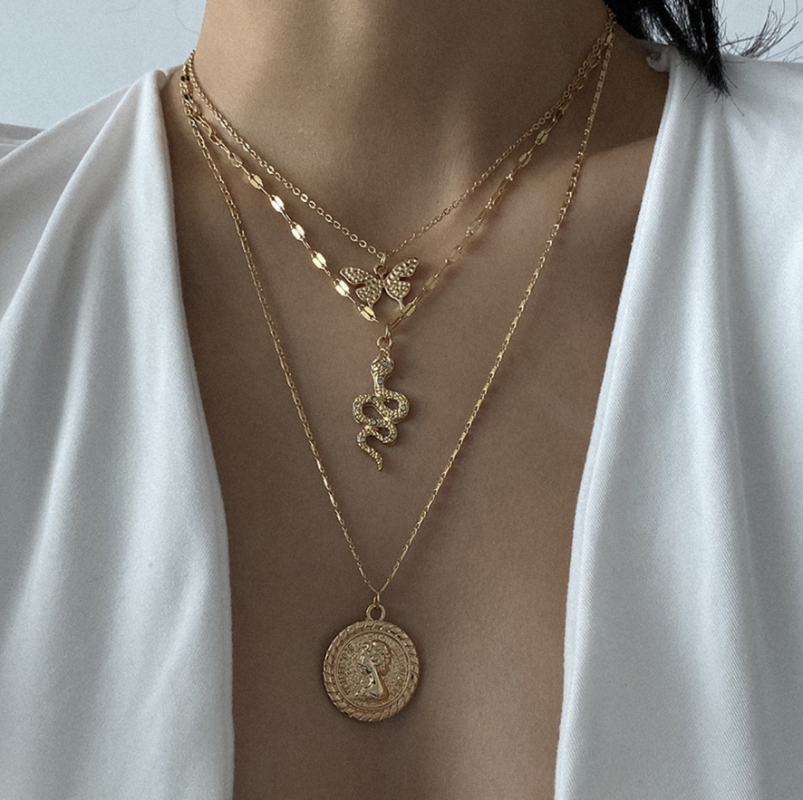 Women Statement Cuban Link Chain Choker Necklace Hip Hop Jewelry 40cm Adjust Necklace Jewelry Crafting Key Chain Bracelet Pendants Accessories Best Color Gold