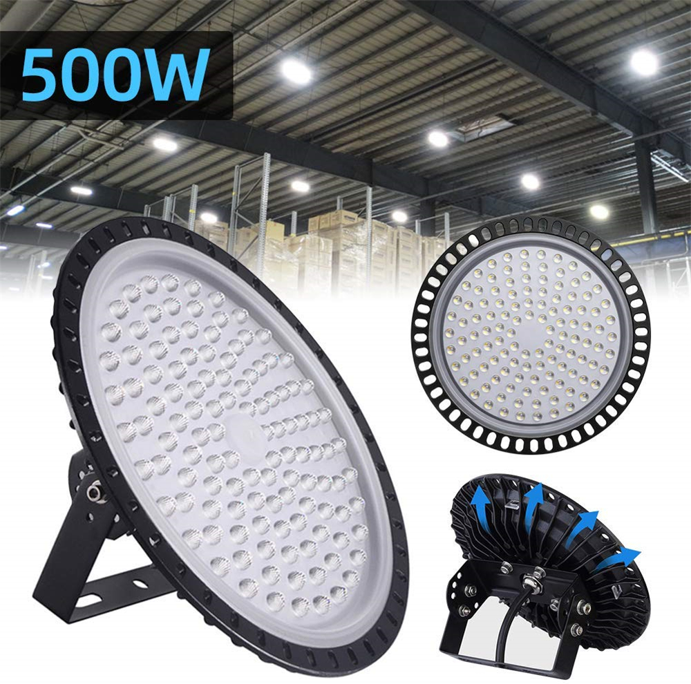 8x 150W LED High Bay Light E27 Industrial Factory Warehouse Commercial Shed Roof