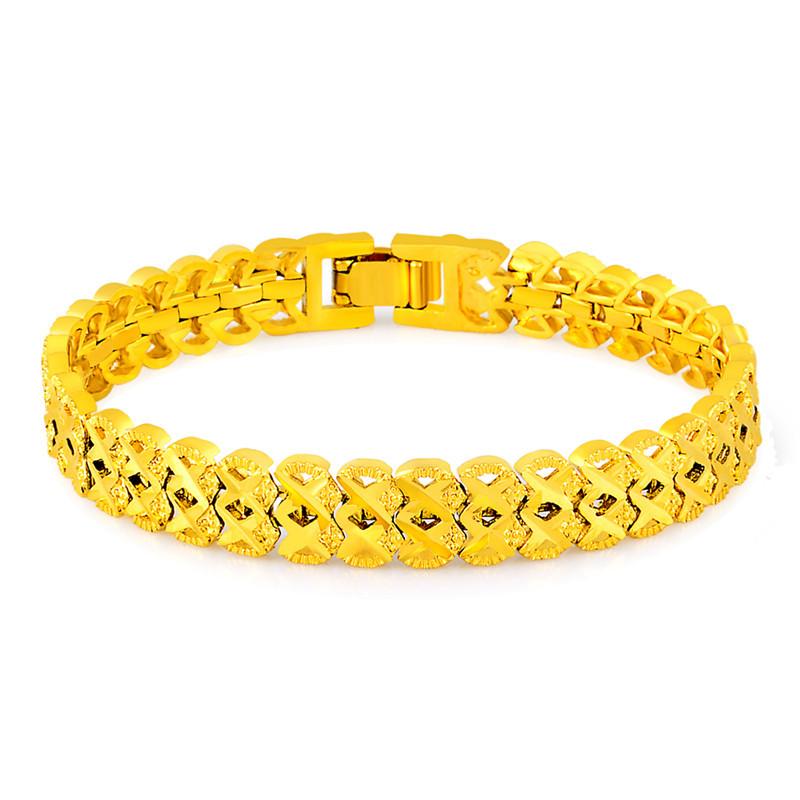 bracelet femme 24k