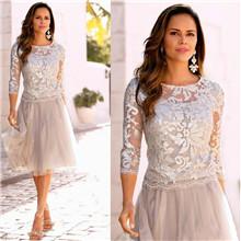 Short Mother Of Bride Dresses