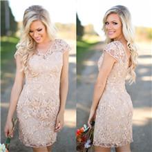 Full Lace Bridesmaid Dresses