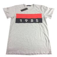 0cacb9684 Marca de manga corta T-shirt Hombres Tops Venta al por mayor de gran tamaño  Diseñador de Verano Camisetas Para Hombres Tops Carta T Shirt Ropa de Hombre