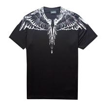 18ss nouveau Marcelo Burlon T-Shirt Hommes Milan MB Plumes Ailes T Shirt Hommes Femmes Couple Défilé De Mode RODEO MAGAZINE T Shirts Goros camisetas