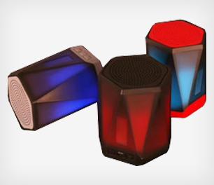 LED Wireless Speakers, Walkie Talkies & Gaming Keyboards