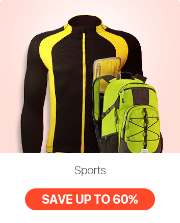 Massively Reduced Worout Outfits; Outdoor & Sports Gear UP TO 60% OFF