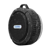 Haut-parleur Bluetooth C6 imperméable à l'eau avec la longue vie de batterie forte de conducteur et le micro et la tasse d'aspiration démontable dans le paquet de détail
