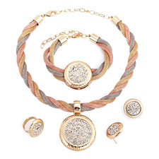 18KT GP Jewelry Sets