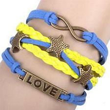 Infinity Charm Bracelets