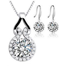 Luxury Crystal Jewelry Sets