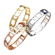 18KT Rose Gola Bracelets