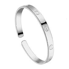 925 Silver Love Bracelets