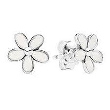 925 Silver Clover Earrings