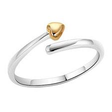 925 Silver Rings w/Heart