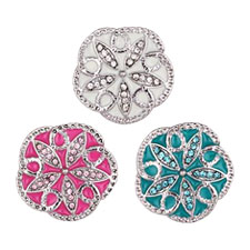 Noosa Snap Crystal Buttons