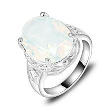 Moonstone 925 Silver Rings