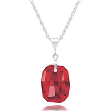 S925 Austria Crystal Necklaces