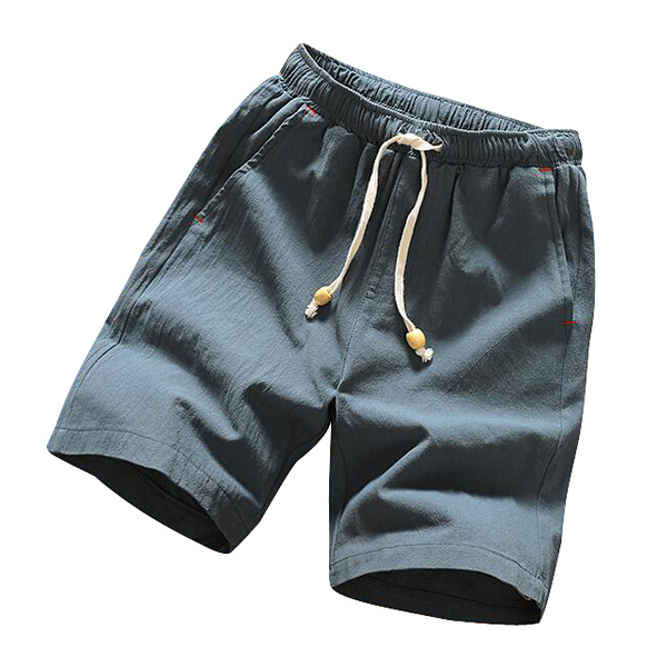 Summer Men 039 s Linen Blend Shorts