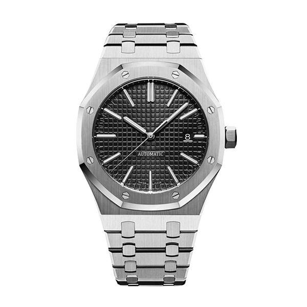 aaa luxury mens automatic mechanical watches classic style 42mm full stainless steel strap top quality wristwatches sapphire Super luminous