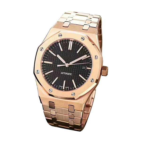 High-end aa luxury men automatic mechanical watch.Royal oak wrist watch, west iron city machine core changes 3120 machine core.Fine steel