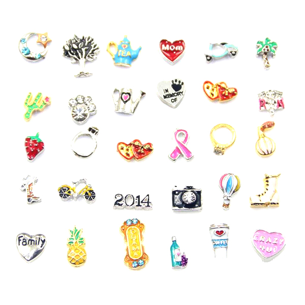 Fashion Floating Charms For Glass Living