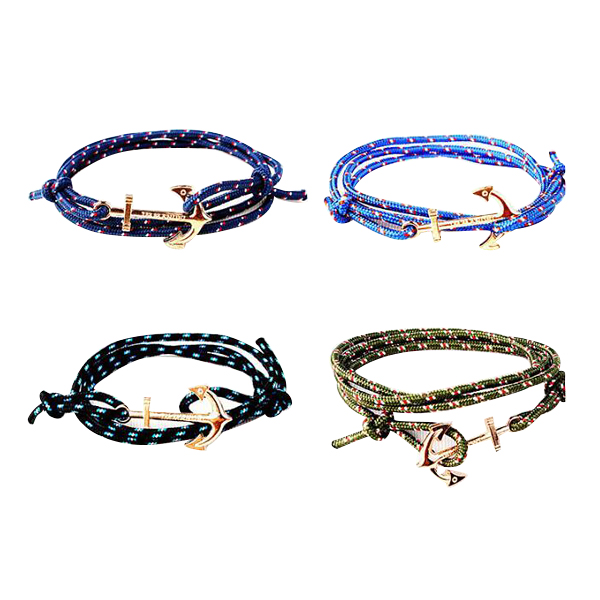 Anchor infinity Bracelet Fashion Multilayer