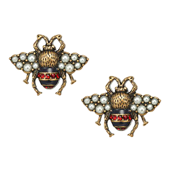 Designer Bee stud Earrings Bracelets for Women