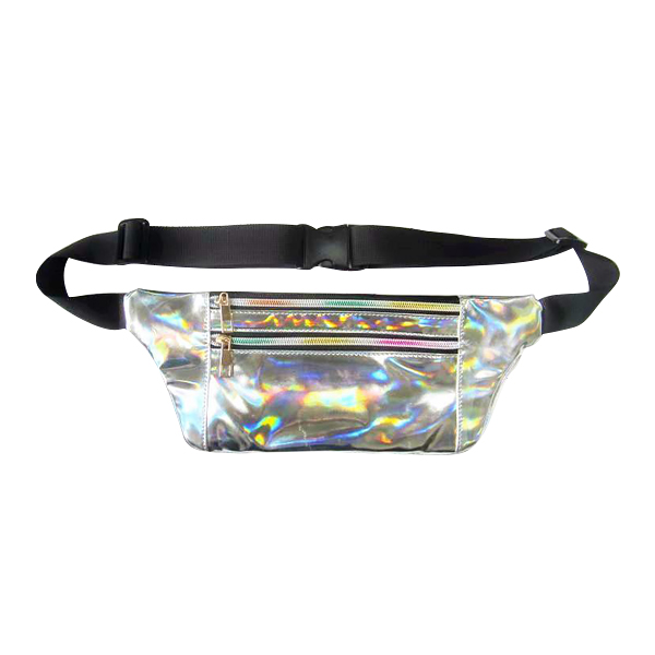Fashion Designer Waist Bag Laser Reflective