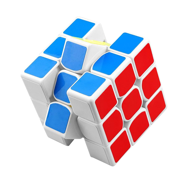 Magic Cube Professional Speed Puzzle Cube Twist Toys 3x3 Classic Puzzle Magic Toys Adult and Children Educational Toys 2 Colors