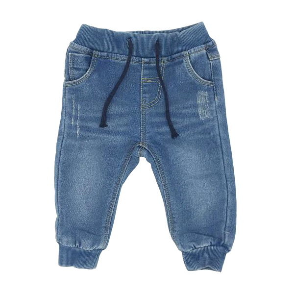 2017 New Baby Boy Jeans Pants Solid Ripped Regular Fit Put on Jeans 4-24Months Children Clothing Kids Trousers