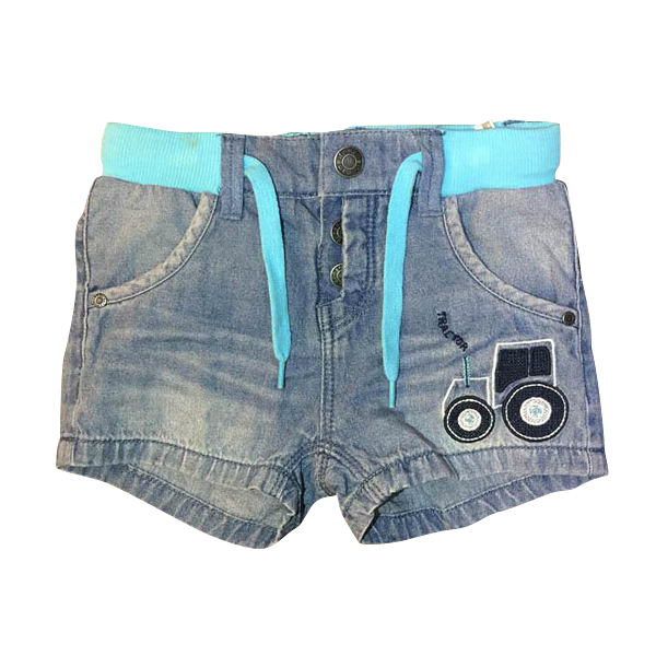 Baby Boy Pants Shorts Jeans Car Pattern Embroider England Style High Quality Children Kids Clothes Jeans Trousers