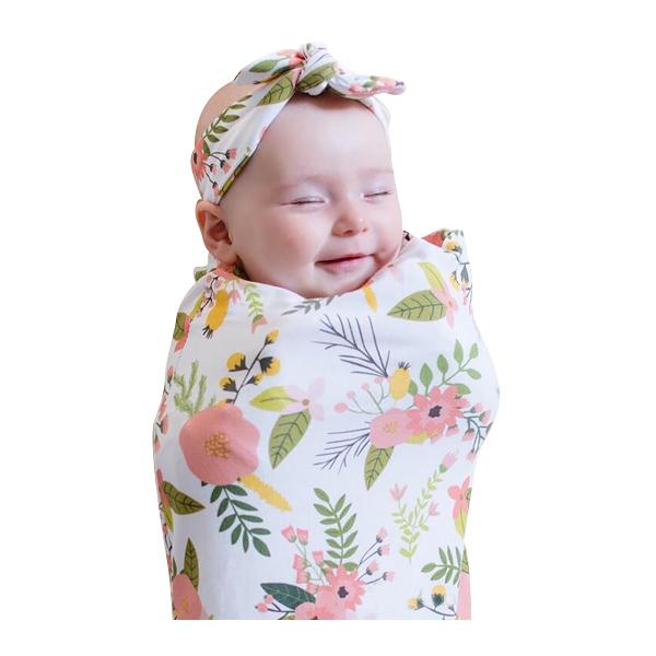 Ins Newest Arrivals Hot Infant Newborn Toddler Baby Swaddle Blanket Baby Sleeping Swaddle Muslin Wrap Headband Kids Swaddle Bag Xmas Gifts