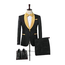 2018 Brand Groom Tuxedos Groomsmen One Bbutton