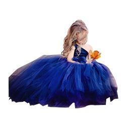 Royal Blue Flower Girl Dresses For Toddlers