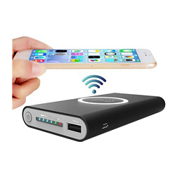 Hot sell Wireless Qi Charger 10000mAh Power