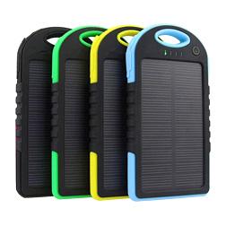 Best Dual USB 5000mAh Waterproof Solar Power