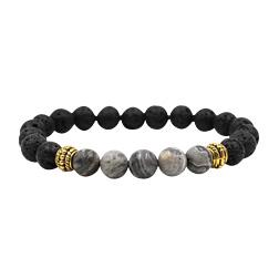 2018 New Yoga Lava Rock Bracelets