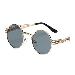 Vidano Optical Round Metal Sunglasses