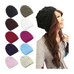 Winter Warm Knitted Crochet Skull Beanie Hat
