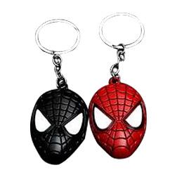 Spider Man Iron Man Mask Keychain