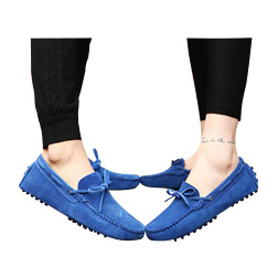 Casual Flats Shoes Genuine Leather Boat Shoes