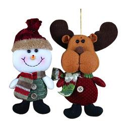 Santa Claus Snow Man Doll Christmas Decorations