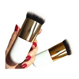 Hot Chubby Pier Foundation Brush Flat Cream Makeup Brushes