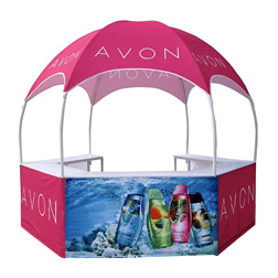 Hot Sale Outdoor Customize Super Advertising Round Dome Kiosk Tent