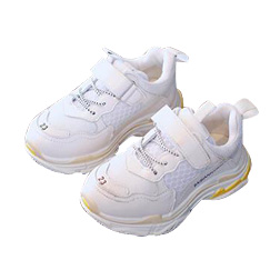 2018 New children sports shoes spring girls breathable running shoes