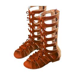 Roman Shoe Girl Topless Beach Shoe Kids Fashion Sandals Children's Alpine Sandal Summer