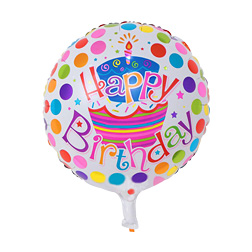 18 Inch inflatable birthday party ballons decorations bubble helium foil balloon kids happy birthday balloons toys supplies