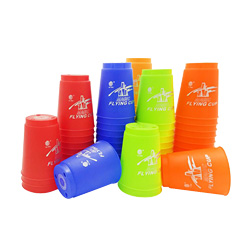 Magic Flying Cup Game Using The Competitive Sports Toys Hand speed sports Contest Creative Challenges Their Own Toys DHL