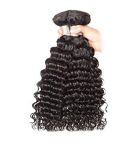 Mink 8A Deep Wave Hair Weaves