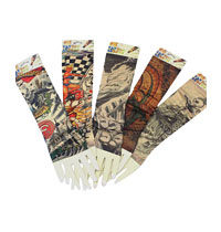 Tattoo Sleeve Arm Warmers