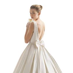 Vintage Satin A-Line Bead Wedding Dresses Bridal Gowns Bateau Neck Modest Country Wedding Gowns Plus Size Custom